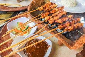 غذاهای تور بالی ساته