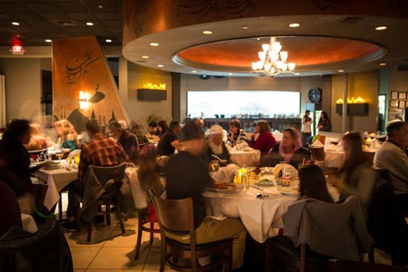 رستوران ایرانی 1001 شب در تفلیس
