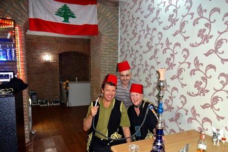 رستوران بیروت پاشا در تفلیس